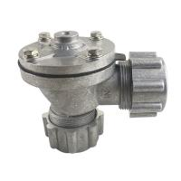 China Dust Collector Right Angle Aluminum Alloy Slivery DN25 1 Inch Z-Series MF-ZM-25 Air Control Pulse Jet Valve on sale