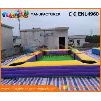 China Giant Pool Table Soccer Inflatable Snooker Football Inflatable Snooker Field on sale