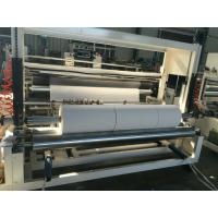 China Towel Paper Rewinder Machine For Roll Slitting And Rewinding Air Inflating Shaft on sale