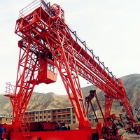 Wholesale Workshop Travelling Double Girder Truss Gantry Crane from china suppliers