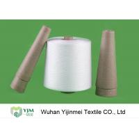 Wholesale 30/2 Raw White Virgin Ring Spun 100 Polyester Yarn Z Twist For Sewing from china suppliers