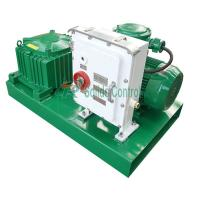 China Compact Solids Control Mud Agitator , 380KG Horizontal Fluid Agitator on sale