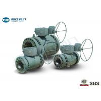 Wholesale Flange End Trunnion Ball Valve , API 6D Three Piece Ball Valve 2 - 42 from china suppliers