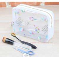 China Eco Durable Toilet Kit PVC Cosmetic Bag Clear Wash Bag Organizer Pouch on sale
