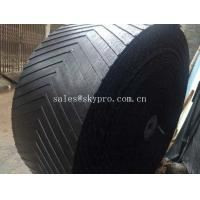 Wholesale Heat Resistant Rubber Conveyor Belt With 10-24Mpa Tensile Strength , 5-30mm Thickness from china suppliers