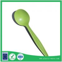 Wholesale green color biodegradable corn starch spoons from china suppliers