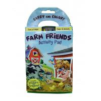 Wholesale 4.13*7.56'' Custom Size Professional Book Printing Farm Friends Activity Pad from china suppliers