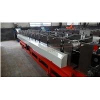 China 5.5kw / 7.5kw / 11kw Circular Gutter Downspout Roll Forming Machine Gearbox Driven on sale