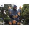 2.3 Meters Amusement Park Giant Realistic Animatronic Godzilla Statues can move
