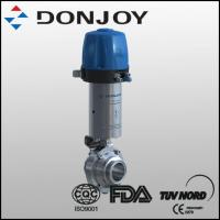 China Pneumatic Butterfly-Type Ball Valve With C-Top on sale
