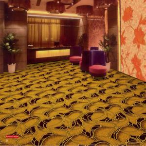 Buy cheap Luxury PVC Carpet Flooring , 100 Polypropylene Carpet Jacquard Style from wholesalers