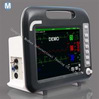 Wholesale 12 inch Portable Monitor Medical Equipment 6 Parameter Patient Monitor from china suppliers