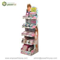 Wholesale Cardboard 5 Tiers Display Stand, CD/DVD Point Of Sale Cardboard Display from china suppliers