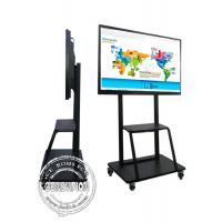 Wholesale 85 Inch 4k Big Education School Digital Tv Conference Room Interactive Flat Board For Video Meeting from china suppliers