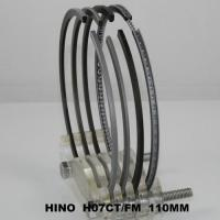 China 110mm Ranger SD Truck Engine Piston Ring Set Hino H07CT 13019-1340A ( cyl ) Parts on sale
