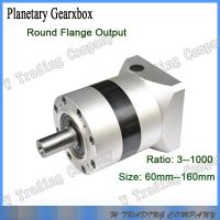 China 90mm planetary gearbox with gear ratio 5:1 for 86mm stepper Motor output shaft 12.7mm on sale