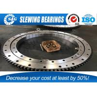 Quality Chrome Steel GCr15 KOBELCO Excavator Slewing Bearing , SWING CIRCLE / Internal for sale