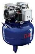 Buy cheap Dental oil free air compressor 220V Compressor connect  one dental chair with blue color air compressor from wholesalers