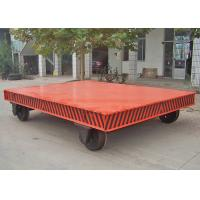 Wholesale Flexible Electric Transfer Cart , Heavy Material Transfer Trolley CE Approved from china suppliers