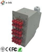 Wholesale Splice Distributor Ethernet Patch Panel DIN-Rail Mounting Options PG Gland Strain Relief from china suppliers