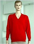 Sweater, men's, HYBRID CASHMERE, V-NECK PULLOVER,12GG
