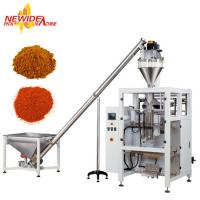 China Full Automatic Pepper Powder Pouch Packaging Machine With Auger Filler on sale