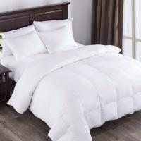 Wholesale White Down Comforter, Year Round Use, 100%Cotton, 600 Fill Power, 233 Thread Count , King Size, White from china suppliers