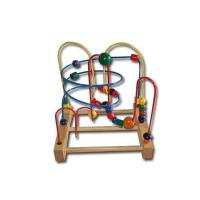 Quality Two Wires wooden mini beads Rack-Educational toys for sale