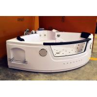 Wholesale Mini Jacuzzi Freestanding Tub Whirlpool Air Tub With 2 Pcs Pillow 1400 * 1400mm from china suppliers