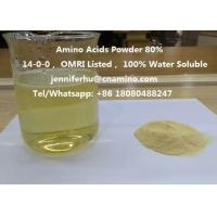 Wholesale Compound Amino Acids Powder 80% 70% 60% 52% 50% 45% 40% Organic Fertilizer, 14-0-0, OMRI Listed from china suppliers