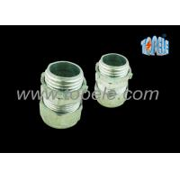 "Buy cheap 3/4"" Zinc / Steel Emt Pipe Fittings Compression EMT Connector ISO Standard from wholesalers"
