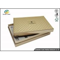 Wholesale Folding Cardboard Gift Boxes Charming Silver Printing / Decorative Paper Boxes from china suppliers