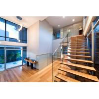 Wholesale Stainless steel spigot glass railing/ glass balustrade with laminated glass panel from china suppliers