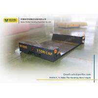 Wholesale Ultra Low Table Die Transfer Cart Railway Electric Flat Trailer For Foundry Plant from china suppliers