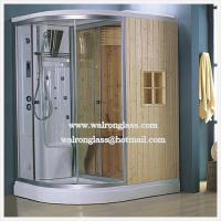 Wholesale Luxury Bathroom/Shower Enclosure/Door High Quality Tempered Glass from china suppliers