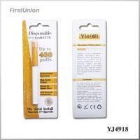 Wholesale 400 Puffs 280mAh Green Smoke Disposable Electronic Cigarettes YJ4927 from china suppliers