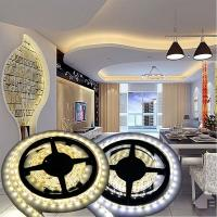Wholesale 12V Non-waterproof 5050 LED Strip Light for Home Decoration 5M 300 LEDs Warm/Cool White from china suppliers