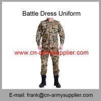 Wholesale Cheap China Military Multi-Camouflage Police Army Battle Dress Uniform