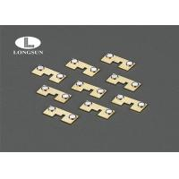 Buy cheap Low Resistance Metal Stamping Components With Good Solder Ability And Adhesive Ability from wholesalers