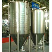 China Pub / Beer Bar Large Home Brewing Systems Beer Fermentation Tank Jacketed Conical on sale