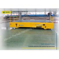 Buy cheap Mould Heavy Duty Plant Trailer Electric Building Site Track Bogie Handling Vehicle from wholesalers