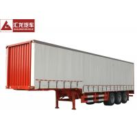 Wholesale Flatbed Baseplate Curtain Side Trailer 6 Channels Braking High Fixity from china suppliers