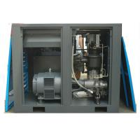 China Compressed Air System Screw Type Air Compressor Machine 100HP 75KW Direct Drive on sale