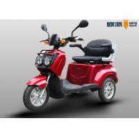 China Electric Scooters Handicapped Adults , Outdoor 3 Wheel Mobility Scooter on sale