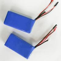 Wholesale High quality 7.4v 2600mah li polymer battery 2s lipo battey pack from china suppliers