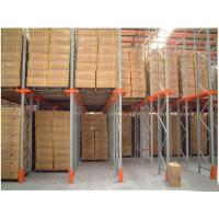 Quality Cold Rolled Steel Drive In Drive Through Racking System For Industrial Warehouse for sale