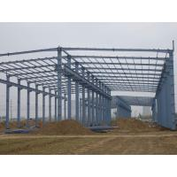Wholesale modular warehouse building prefabricated light steel structure shed from china suppliers
