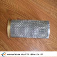 Wholesale Stainless Steel Cylinder Screen Filter|1-2400 mesh Supplied by China Factory from china suppliers
