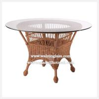 Wholesale Round Glass Table Top with Individual Package from china suppliers