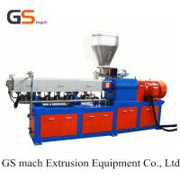 Wholesale Filling Masterbatch Caco3 Double Screw Extruder Machine Low Noise For Granulation from china suppliers